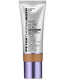 Peter Thomas Roth Skin To Die For Mineral-Matte CC Cream SPF 30, 1 fl. oz.