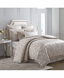 Charisma Avalon 4-Pc. Jacquard King Duvet Cover Set