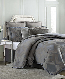 Charisma Emporio 4-Pc. Jacquard California King Duvet Cover Set