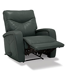 Erith Leather Pushback Recliner