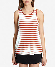 Sanctuary Caris Striped Twist-Back Top