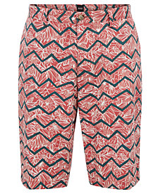 BOSS Men's Graphic-Print Chino Shorts