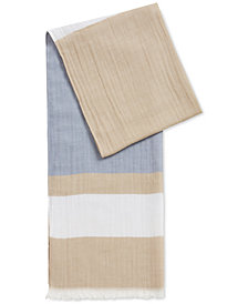 BOSS Men's Striped Scarf