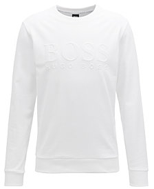 BOSS Men's French Terry Cotton Sweatshirt