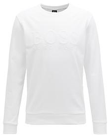 BOSS Men's French Terry Cotton Sweatshirt