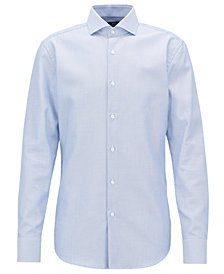 BOSS Men's Slim-Fit Cotton Shirt