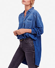 Free People Love This Cotton Henley Shirt