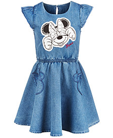 Disney Toddler Girls Minnie Mouse Denim Dress