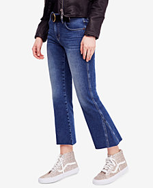 Free People Rita Cropped Flare-Leg Jeans