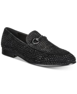 Tallia Men's Lorenzo Moc-Toe Bit Stone Loafers Men's Shoes