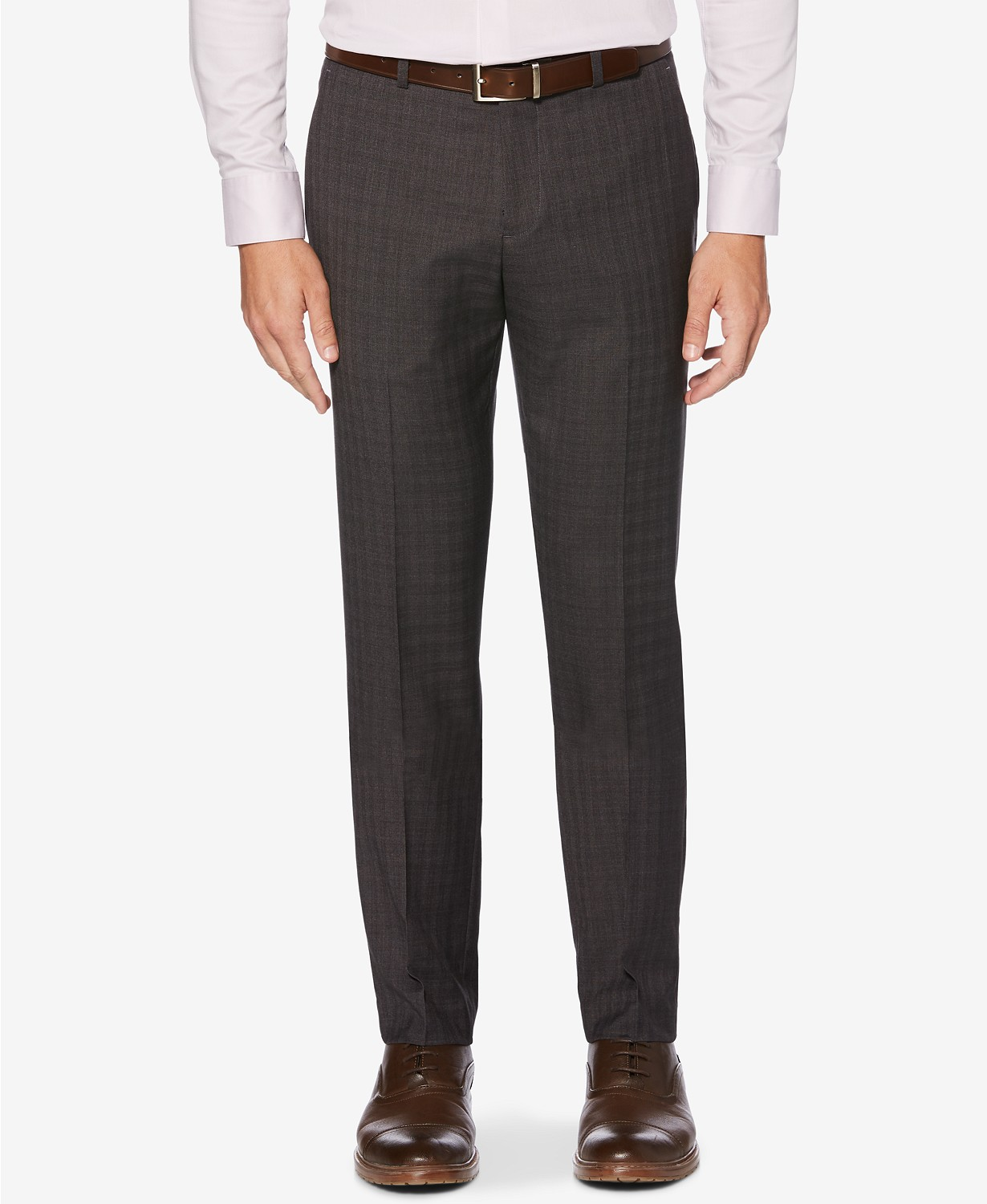 Perry Ellis Portfolio Men's Slim-Fit Stretch Dress Pants