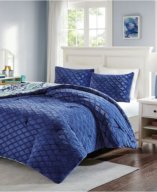 Intelligent Design Melissa Reversible 2 Pc Twin Comforter Set Bed