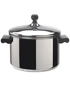 Classic Series Stainless Steel 4-Qt. Saucepot & Lid