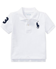 Polo Ralph Lauren Baby Boys Cotton Polo