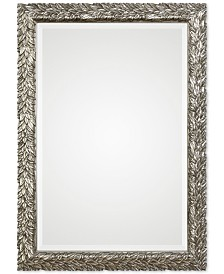 Uttermost Evelina Silver Leaves Mirror