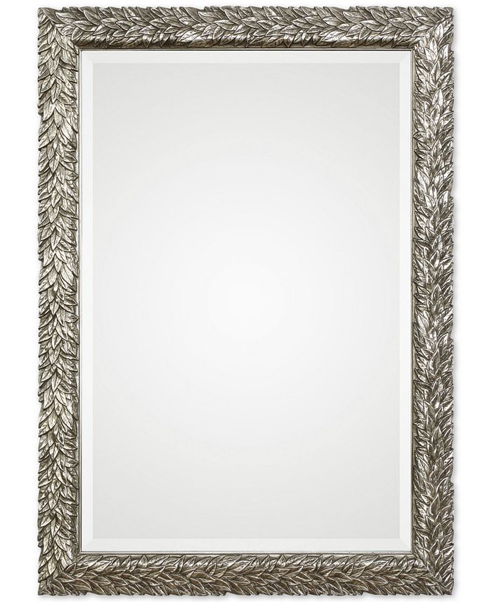 Uttermost - Evelina Silver Leaves Mirror