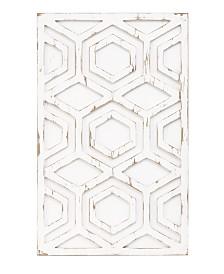 Ink+Ivy Ralston Wooden Pattern Wall Art
