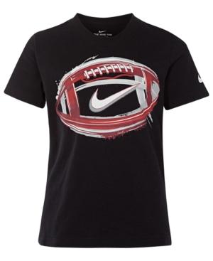 Nike Little Boys Football-Print Cotton T-Shirt