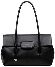 Radley London Flapover Medium Leather Shoulder Bag