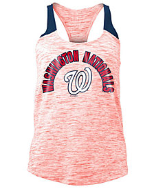 5th & Ocean Women's Washington Nationals Space Dye Tank