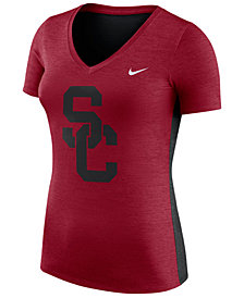 Nike Women's USC Trojans Dri-Fit Touch T-Shirt