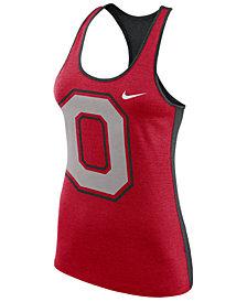 Nike Women's Ohio State Buckeyes Dri-Fit Touch Tank