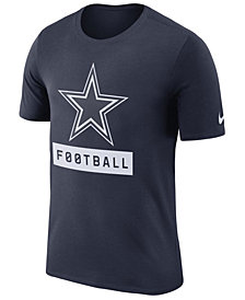 Nike Men's Dallas Cowboys Legend Football Equipment T-Shirt