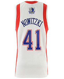Mitchell & Ness Men's Dirk Nowitzki NBA All Star 2004 Swingman Jersey