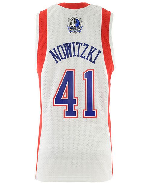 buy online 97f1d 5de3e Men's Dirk Nowitzki NBA All Star 2004 Swingman Jersey