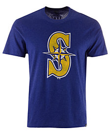 '47 Brand Men's Seattle Mariners Club Logo T-Shirt
