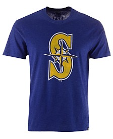 '47 Brand Men's Seattle Mariners Club Logo T-Shirt
