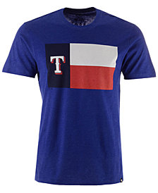 '47 Brand Men's Texas Rangers Club Logo T-Shirt