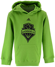 adidas Seattle Sounders FC Pitch Street Hoodie, Big Boys (8-20)