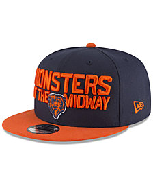 New Era Chicago Bears Draft Spotlight 9FIFTY Snapback Cap