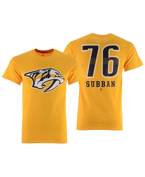 Majestic Men's P.K. Subban Nashville Predators Underdog Player T-Shirt