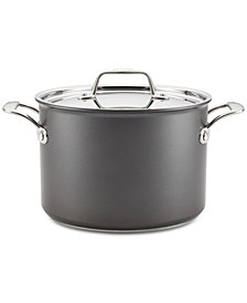 Breville Thermal Pro Hard-Anodized Non-Stick 8-Qt. Stockpot & Lid