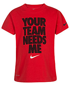 Nike Little Boys Team-Print T-Shirt