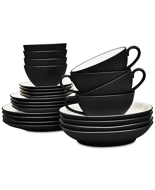 Noritake Colorwave 24-Pc. Dinnerware Set, Service for 4, Created for ...