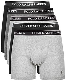 폴로 랄프로렌 속옷 하의 Polo Ralph Lauren Mens 5-Pk Cotton Classic Boxer Briefs
