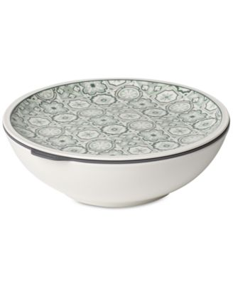 Modern Dining  Jade Large Dish with Lid