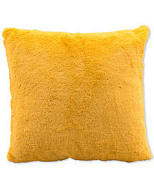 "Zuo Palmer Yellow 17.7"" x 17.7"" Decorative Pillow"