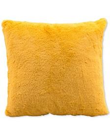 "Zuo Palmer Yellow 17.7"" x 17.7"" Decorative Pillow"