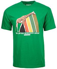 LRG Men's Riddim Prism Logo-Print T-Shirt