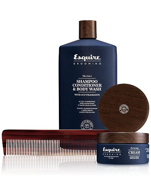 305c64c4da68 Esquire Grooming 3-Pc. The Long Wavy Textured Hair Set - All Perfume ...