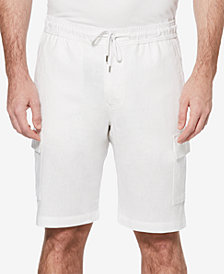Cubavera Men's Linen Blend Cargo Shorts