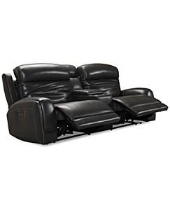 Excellent Grey Leather Sofa Macys Creativecarmelina Interior Chair Design Creativecarmelinacom