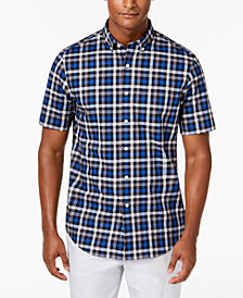 Club Room Men's Markson Plaid Shirt, Created for Macy's