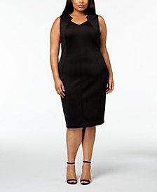 Calvin Klein Plus Size Sleeveless Sheath Dress