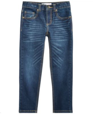 Little Boys Slim-Fit Stretch Denim Jeans, Created for Macy's