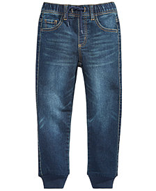 Epic Threads Knit Denim Jogger Pants, Toddler Boys, Created for Macy's
